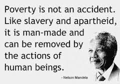 Mandela poverty quote